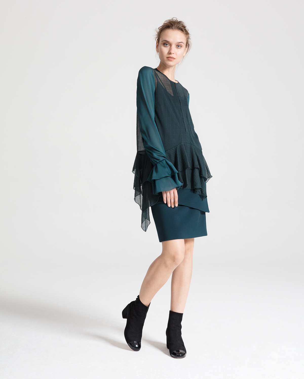 3df3841fe27 Jersey Skirt Knee Length - Data Dynamic AG