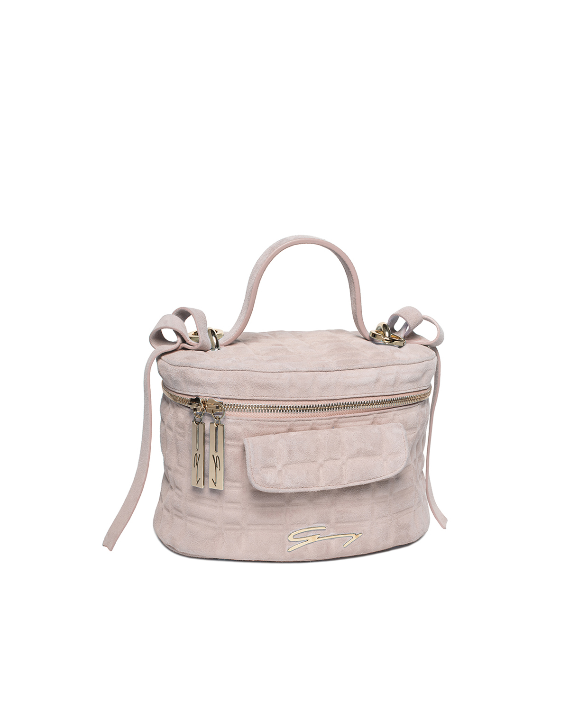 a2a2e2de6a17 Pink Suede Bag – Hanna Oaks