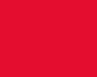 Red assymetric cady dress